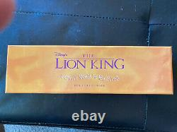 Rare Disney Le Roi Lion I Can Not Wait To Be King Pin Set Collection Nib Le