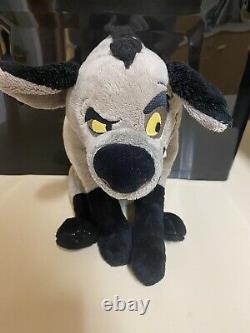 Rare Disney Store Lion King Hyena Benzi Peluche Estampillée