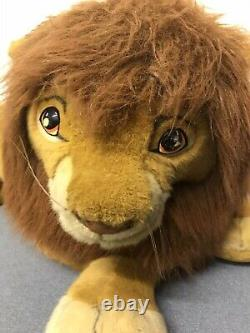 Rare Douglas Promo Lion King Simba Peluche Stuffed Disney Mufasa 1994 Nestlé 5