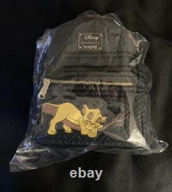 Rare Loungefly Sleeping Simba Lion King Disney Mini Sac À Dos Le 600 En Main