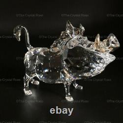 Rare Swarovski Crystal Disney Lion King Pumbaa Warthog 1049784 Mint Boxed Coa