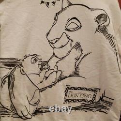 Rare Vintage 1994 Disney Original Lion King Promo Graphic Crewneck. Taille M