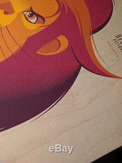 Roi Lion Roi Variante En Bois Tom Whalen Affiche Disney Pixar Imprimé Art Simba