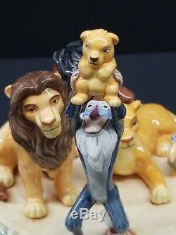 Royal Doulton Disney Le Roi Lion Circle Of Life Figurine En Porcelaine Le