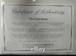 Scheming Scar Encadrement Le Roi Lion Simba Scar Disney Villian Sericel