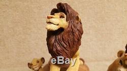 Sculptures En Sandicast Du Roi Lion De Disney Par Sandra Brue Simba
