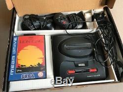 Sega Megadrive 2 Roi Lion Disney Pack Spécial Uk Et Console Boxed Boite