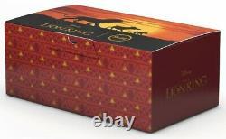 Set Cadeau Steiff Disney'the Lion King' Édition Limitée 354922 Bnib
