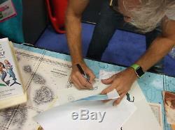 Simba Nala Playmates Roi Lion Disney Sericel Chris Sanders Signé Cel Nouveau Cadre