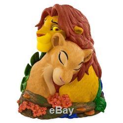 Statue De Figurine De Figurines Du Roi Lion Simba Et Nala De Disney Avec 20 Animaux