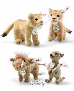 Steiff 354922 Disney Le Roi Lion Coffret 13 CM