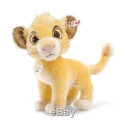 Steiff 355363 Disney Roi Lion Simba 24 CM