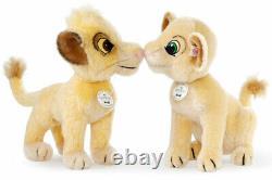 Steiff Disney 2019 Simba & Nala Le Roi De Lion 355370 / 355363 Nouveau