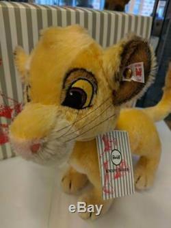 Steiff Disney Le Roi Lion Simba 355363 Brand New Edition Limitée No. 880/1994