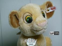 Steiff Disney Roi Lion Nala 9.6in. / 24cm Ean 355370 Bnib