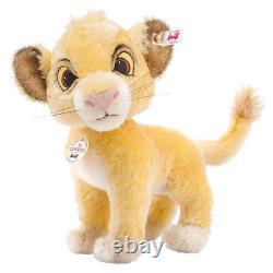 Steiff Simba Lion De Disney Lion King 355363 Cadeau Boxé Marque Nouveau