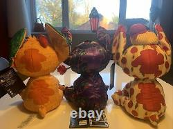 Stitch Crashes Disney Beauty & The Beast + Lady + The Lion King Peluche Bundle