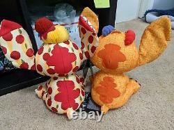 Stitch Crashes Disney Parks Lady And The Tramp 2/12 Et Lion King Plush 3/12 T.n.-o.
