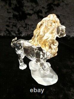 Swarovski Crystal Disney Lion King Mufasa 5 1/2 Long Mint Condition