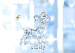 Swarovski Disney 2010 Roi Lion Mufasa Simba Pumbaa Full Set Tout Neuf Dans Boîte
