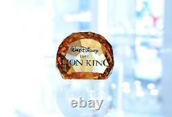 Swarovski Disney 2011 Le Roi Lion Mufasa Simba Pumbaa Ensemble Complet Marque Nouveau Dans La Boîte