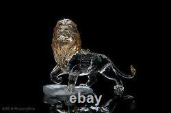 Swarovski Disney Figurine Lion Roi Mufasa 2010 1048265