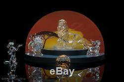 Swarovski Disney Figurines Roi Lion Set 6 Pièces 2010