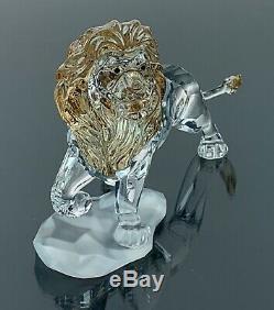 Swarovski Disney Le Roi Lion Mufasa 5 1/2 Longue Mint Condition