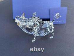 Swarovski Disney Le Roi Lion Pumbaa Pumba Figurine En Cristal Retraitée #1049784
