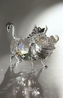 Swarovski Disney Le Roi Lion Pumbaa Warthog 1049784 Monnaie Boxed Retraite Rare
