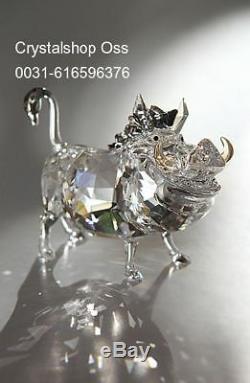 Swarovski Disney Pumbaa Pumba Le Roi Lion Nouveau 1049784