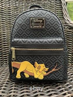 T.n.-o. Loungefly Dormant Simba Lion King Disney Mini Sac À Dos Le 600