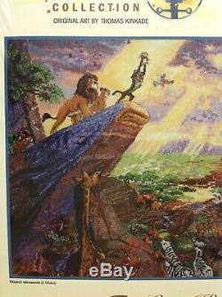 Thomas Kinkade Disney Dreams Collection Le Roi Lion Kit Point De Croix