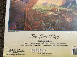 Thomas Kinkade Disney Dreams Lion King Compted Cross Stitch Kit Mcg Textiles