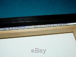 Thomas Kinkade Roi Lion 31 X 16 Toile Imprimer Accent @ Disney Elements 2012