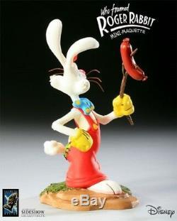 Tiki Électrique Sideshow Disney Roger Rabbit Statue Maquette Jessica Roller Coaste