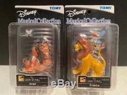Tomy Disney Magical Collection Lineup King Lion Scar 99 Et 94 Simba Figure Japon