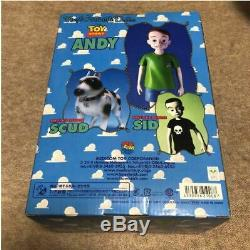 Toy Story Andy Disney Figure Medicom Poupée À Collectionner En Vinyle Sofubi Pixar Jpn