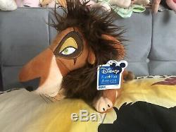 Très Rare Sega Peluche Prix Roi Lion Scar Japon 2005