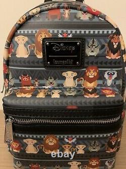 Trusted Loungefly Disney Le Roi Lion Tribal Chibi Mini Sac À Dos Marque Nouveau