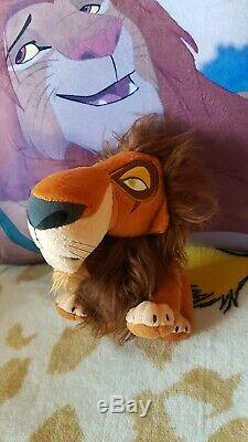 Ultra Rare Disney Le Roi Lion Japon Sega Scar Collector Peluche