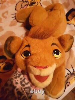 Very Rare Douglas Co. 1994 The Lion King Simba Peluche Puppet Pale Eyes Variante