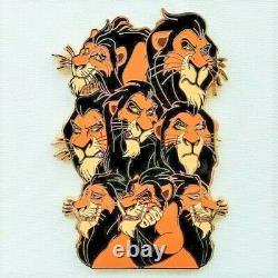 Vhtf Disney Fantasy Pins Lion King Hollar Ultimate Grail Pin