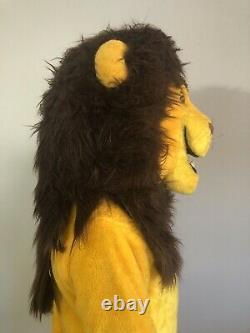 Vieille Mascotte Disney Lion King Adulte Simba Avec Queue