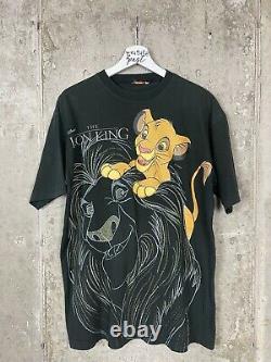 Vintage 1994 Lion King Disney Film Promo Tee Taille De Chemise Grand