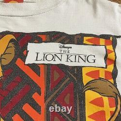 Vintage 90s Disneys Lion King Simba Rappelez-vous Qui U Sont Allover T-shirt