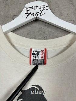Vintage 90s Scar Disney Lion King Movie Promo Tee Shirt Taille XL