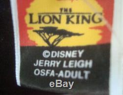 Vintage Disney Le Roi Lion All Over Imprimer T-shirt Tout Neuf Avec Tags Osfa Adulte