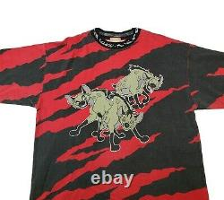 Vintage Disney The Lion King Movie Ed 3 Hyenas Shirt XL Toy Story Aladdin Design