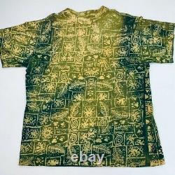 Vintage Disney The Lion King Partout Imprimé Tee-shirt En Point Unique Rare T-shirt